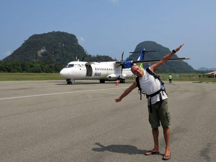 Aeropuerto en Gunung Mulu, Borneo
