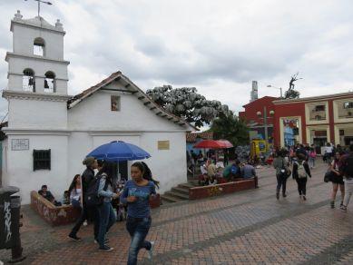 El Chorro de Quevedo, Bogotá, Colombia