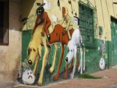 Grafitis en Bogotá