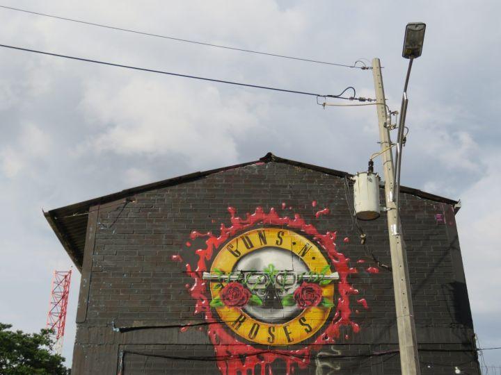 Grafitis en Medellín