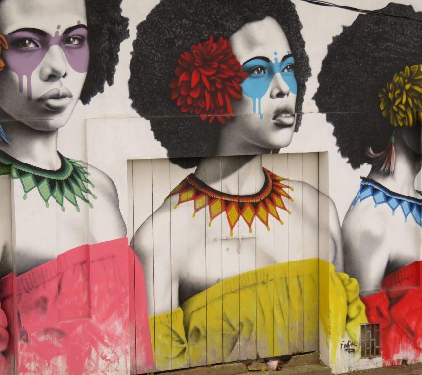 Arte en la calle Cartagena