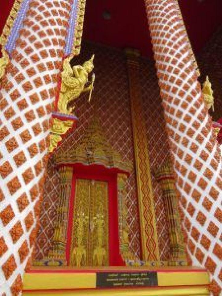 Monasterio en Huay Yai