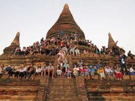 Estupa Bulethee, Bagan