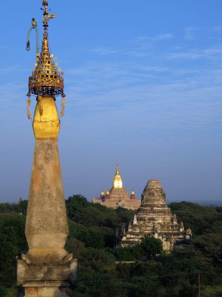Templo Shwegugyi vistas, Bagan