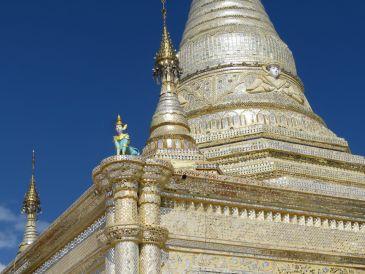 Pagoda en Kalaw, Myanmar