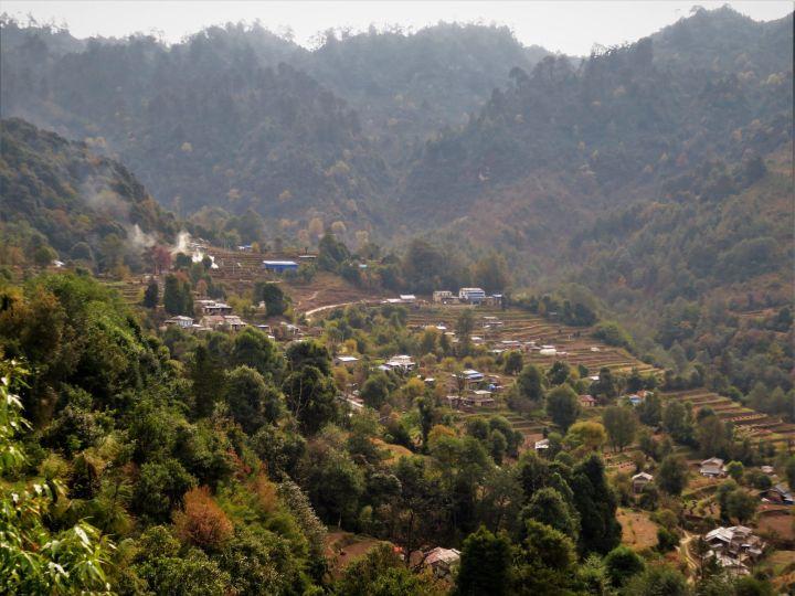 Alrededores de la Cordillera del Annapurna