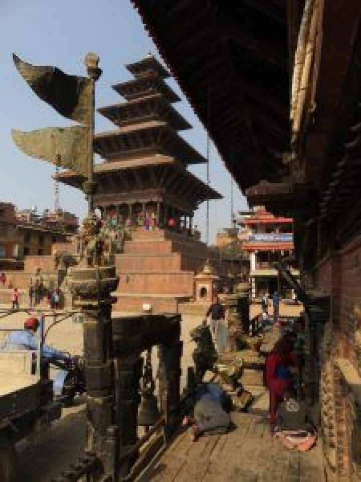 Templo Nyatapola Temple, Bhaktapur, Nepal