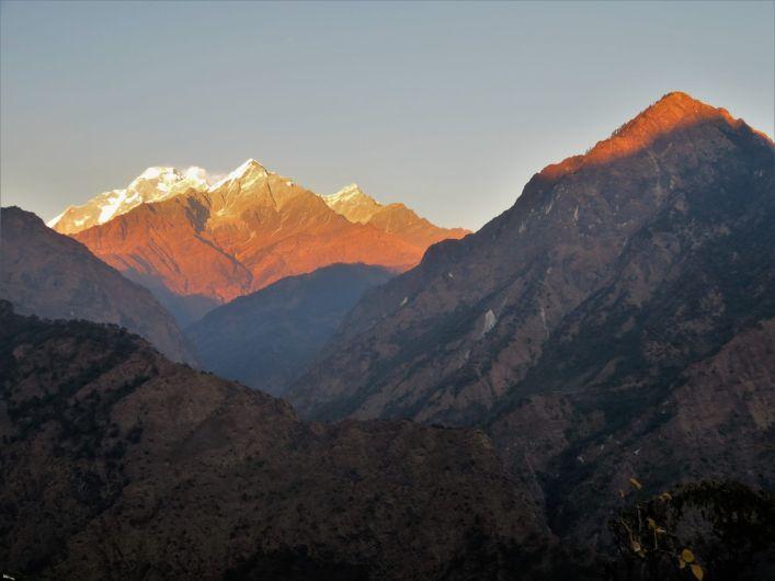Macizo Dhaulagiri Range, Nepal