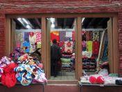 Comercio de tela, Katmandú, Nepal