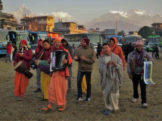 Tourist Bus Station, Pokhara, Nepal