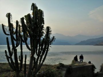 Lago Phewa Lake, Pokhara, Nepal