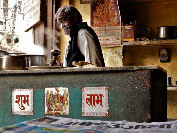 Retaurante local, Benarés, Varanasi, India
