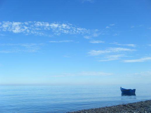 Barca en el Mediterráneo, Marruecos