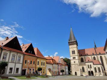Plaza Mayor, Bardejov, Eslovaquia