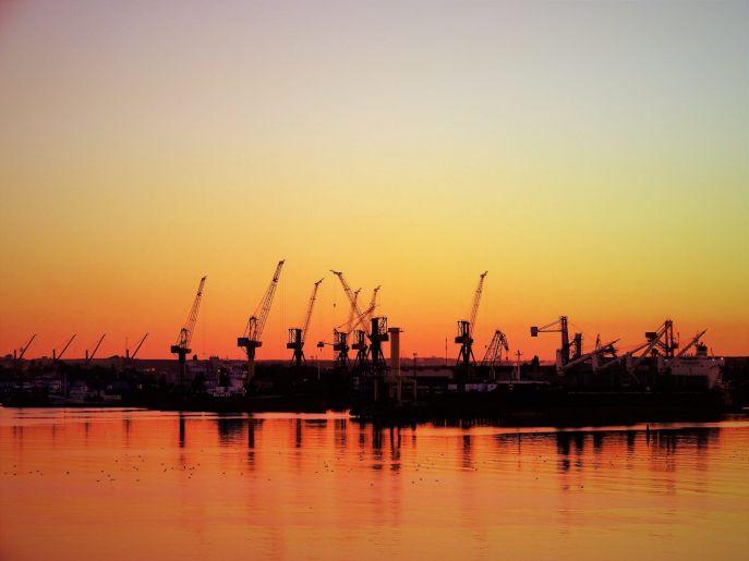 Ucrania, Puerto de Odesa