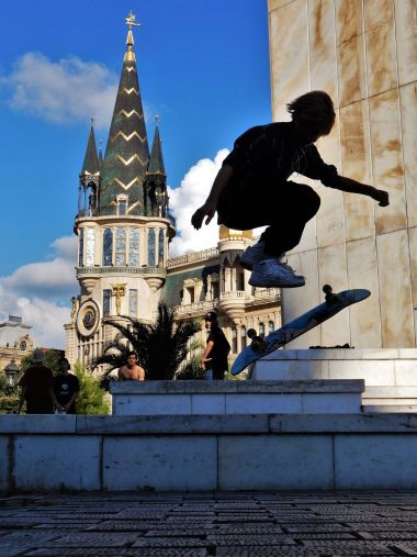 Georgia, Batumi, monopatín