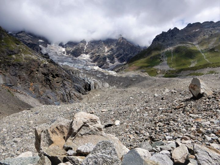 Georgia, Svaneti, Shjara Glacier