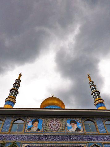 Mezquita en Mar Caspio, Provincia de Gilan, Iran