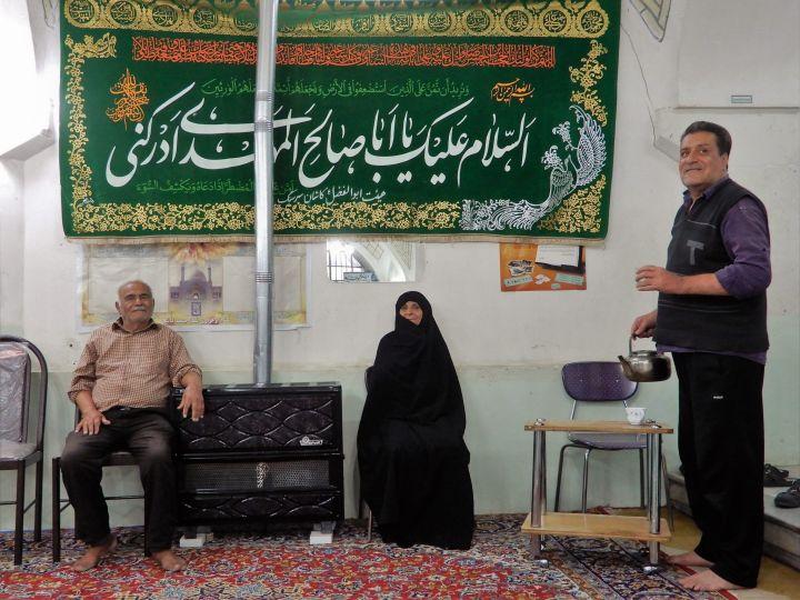 Mezquita de barrio, Kashan, Iran