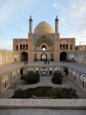 Mezquita Agha Bozorg Mosque, Kashan, Iran