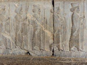 Desfile oferentes, Persépolis, Iran