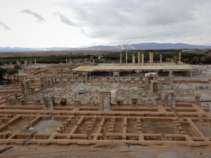 Yacimiento arqueológico Persépolis, Iran