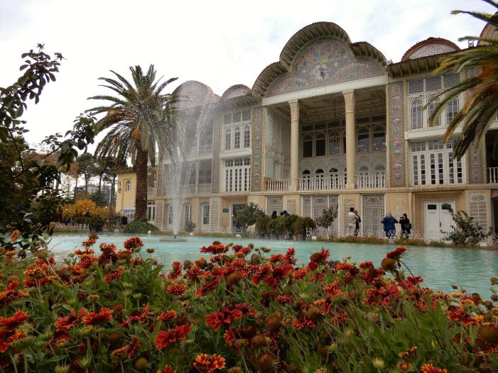 Palacio del Jardín Eram Garden Palace, Shiraz, Iran