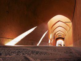Iluminación oblicua, Yazd, Iran