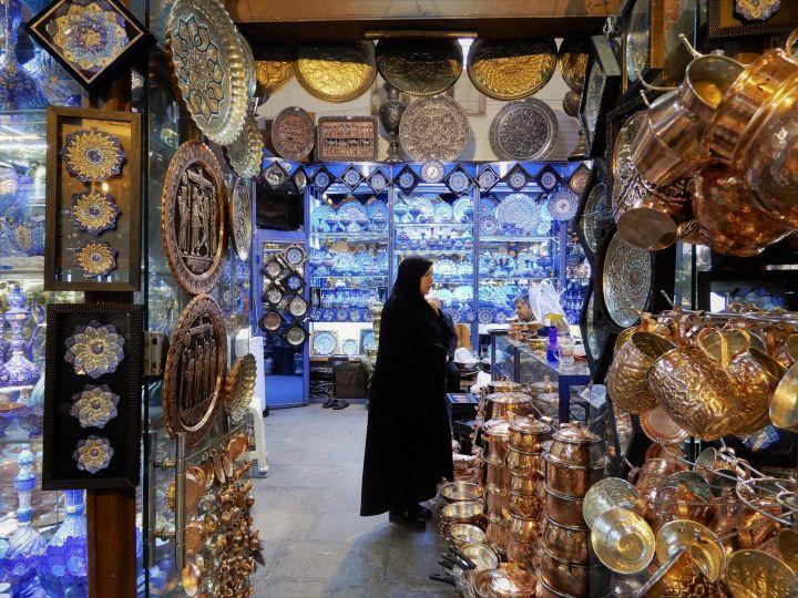 Tienda cacharrería, Isfahan, Iran