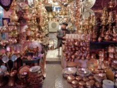 Cacharrería, Gran Bazar, Isfahan, Iran