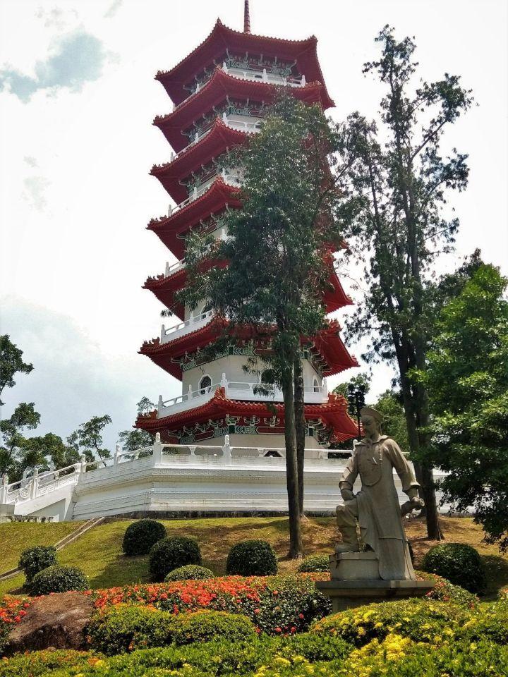 Edificio principal del jardín chino