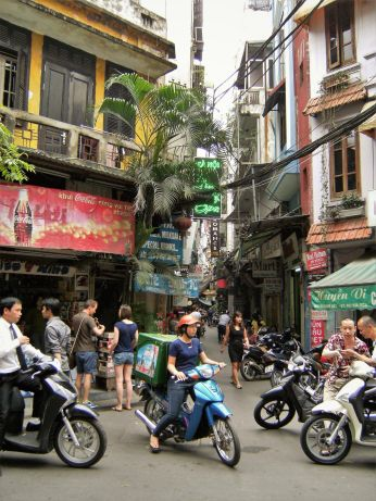 Calle de capital vietnamita