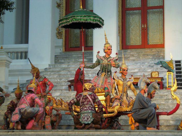 Obra de teatro tradicional, Bangkok