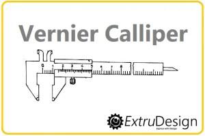 Vernier Calliper Diagram, Working principle  ExtruDesign