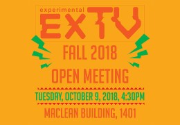 ExTV Fall Open Meeting!