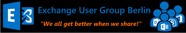 Exchange User Group Berlin