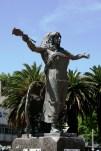 Estátua de Yemanjá, Playa Ramírez, Montevideo, Uruguay, 27/11/2011