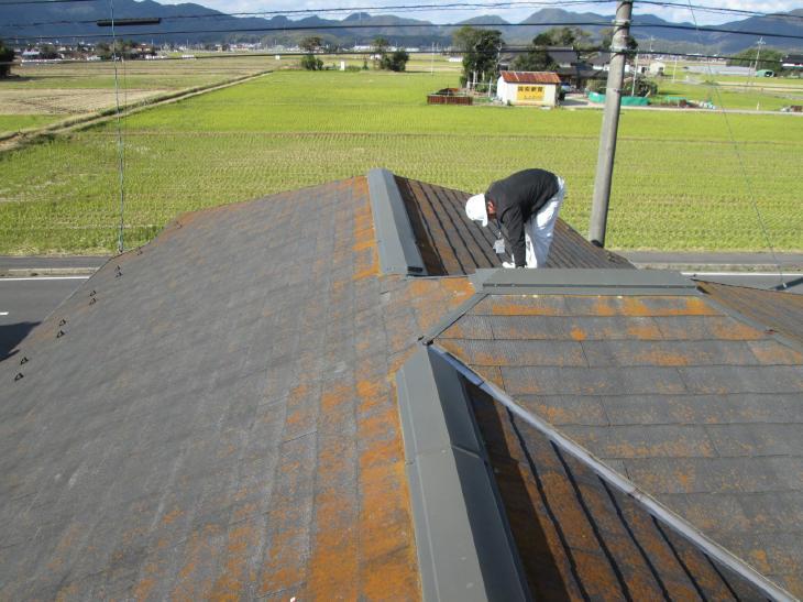 屋根塗装施工例⑤