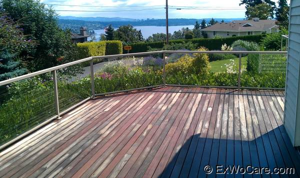 Ipe Deck After Washing