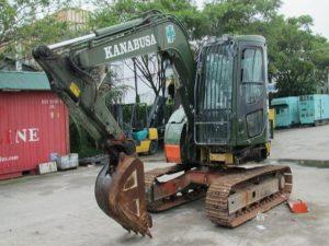 Komatsu PC78US-6N0 Hydraulic Excavator