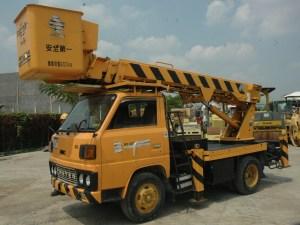 Mitsubishi FE144B Manlift Truck