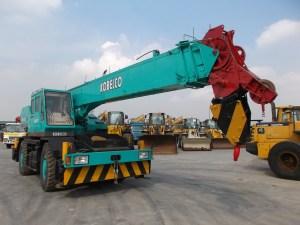 Used Rough Terrain Crane Kobelco RK250 25ton | EXXA – Alat Berat