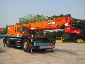 Crane Kato KR50H-L2 Rough Terrrain Crane