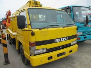Isuzu NPR58L Concrete Pump Truck 15 meter