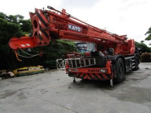 Kato KR50H-LII Rough Terrain Crane SL600-II