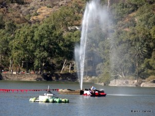 Fountain in Nakki Lake Mount Abu
