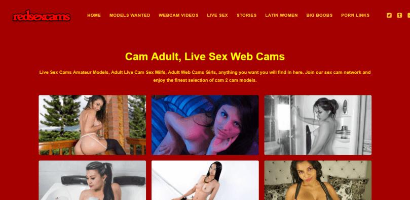 Screenshot redsexcams.com