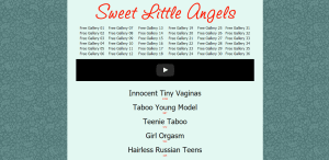Screenshot sweet-little-angels.net
