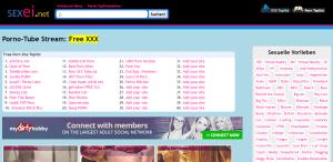 Screenshot sexei.net