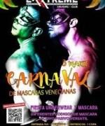 Carnaval de máscaras venecianas el próximo 3 de marzo en EXXXTREME